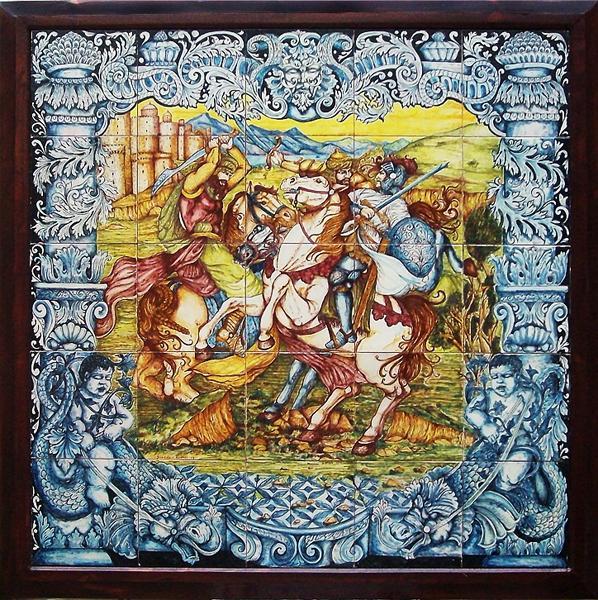 Gallery handmade ceramic works - Mattonelle in ceramica decorate ...